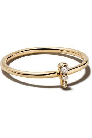 ASTLEY CLARKE Damen Ringe - Mini Interstellar' Gelbgoldring mit Diamanten