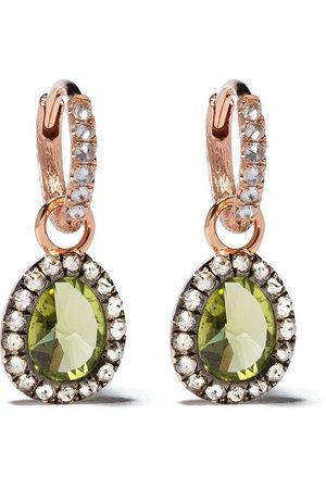 ANNOUSHKA 14kt Rotgoldohrringe mit Diamanten