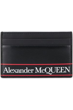 Alexander McQueen Kartenetui mit Logo