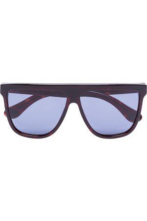 Gucci Sonnenbrille mit geradem Steg