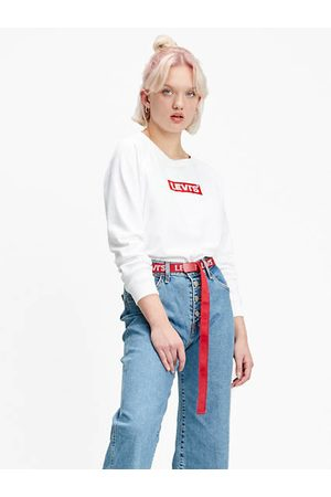 Levi's Damen Relaxed Graphic Crewneck - Neutral / Crew Box Tab White+