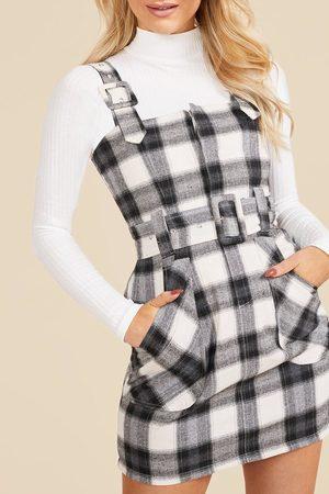 Boohoo Womens Kittelkleid mit Schnallendetail - - 34