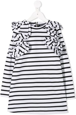 Balmain Mädchen Freizeitkleider - Gestreiftes Kleid