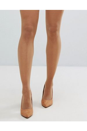 ASOS – 15 Denier Strumpfhose in goldener Bronze