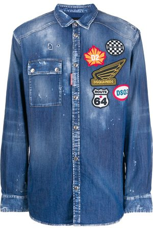 Dsquared2 Jeanshemd mit Patches