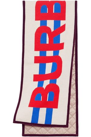 Burberry Jacquard-Schal mit Logo