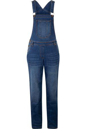 bonprix Jeans-Latzhose mit extra Weite