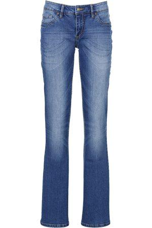 bonprix Stretch-Jeans mit Gürtel, Bootcut