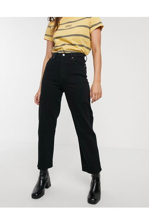 Levi's – Ribcage – Knöchellange Straight-Jeans in