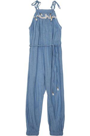 ZIMMERMANN Mädchen Jumpsuits - Kirra Cotton Chambray Jumpsuit
