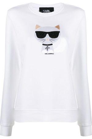 Karl Lagerfeld Ikonik Choupette' Sweatshirt