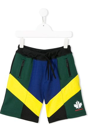 Dsquared2 Colour-block track shorts