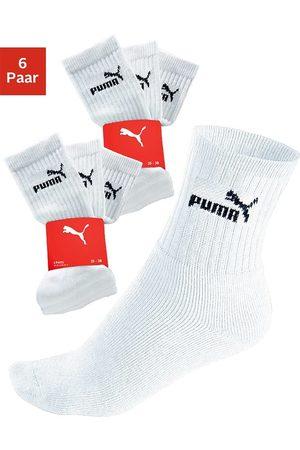 Puma Sportsocken (6-Paar) mit klassischer Rippe
