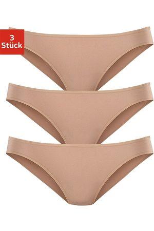 Lascana Damen Bikinis - Bikinislip (3 Stück) aus hochwertiger Modal-Qualität