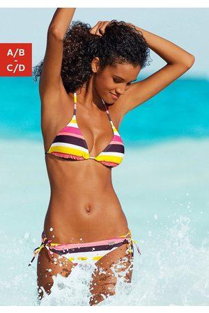 Buffalo Triangel-Bikini im Streifendesign