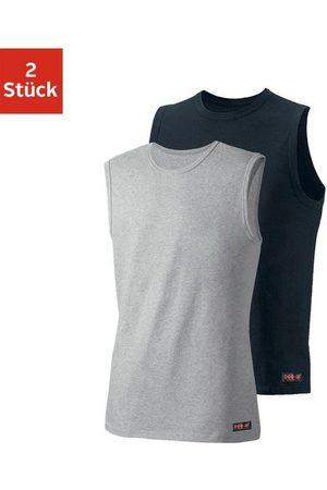 H.I.S Muscleshirt (2er-Pack) aus weichem Baumwoll-Stretch