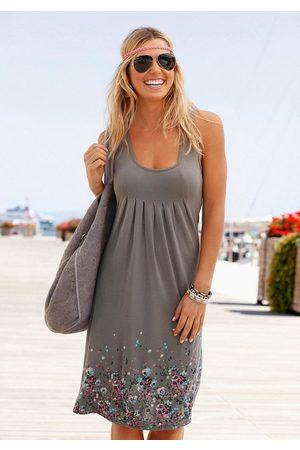 beachtime Strandkleid mit Blumenprint