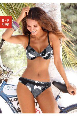 Lascana Bügel-Bikini mit Blumenprint
