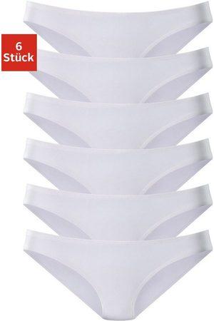 Vivance Bikinislip (6 Stück) aus weicher Microfaser