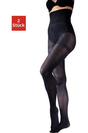 Disee Damen Strumpfhosen - Feinstrumpfhose »Bodyshaper« 40 DEN (2 Stück) mit extrahohem Bund