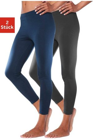 vivance collection Leggings (2er-Pack) mit Gummibund