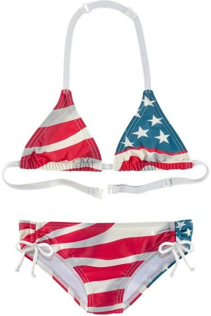 Homeboy Triangel-Bikini im Design der USA-Flagge