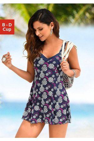 Lascana Badekleid, mit modischen Kreisen