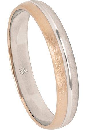 Firetti Trauring mit Gravur »4,0 mm, eismatt, Diamantschnitt«, Made in Germany, wahlweise mit oder ohne Brillant
