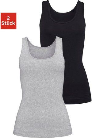 H.I.S Tanktop (2er-Pack) aus elastischer Baumwoll-Qualität