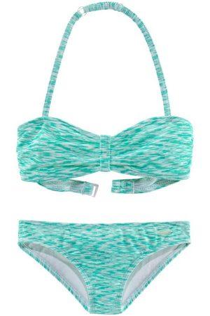 Venice Beach Bandeau-Bikini in Melange-Optik