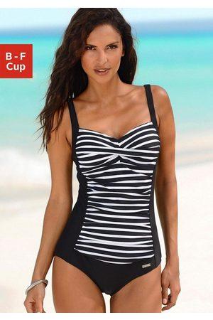 Lascana Badeanzug, mit Streifendruck
