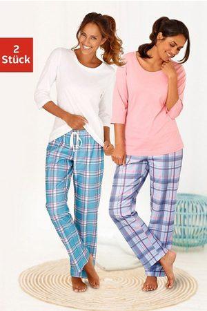 ARIZONA Pyjama (2 Stück) mit passenden Basicshirts