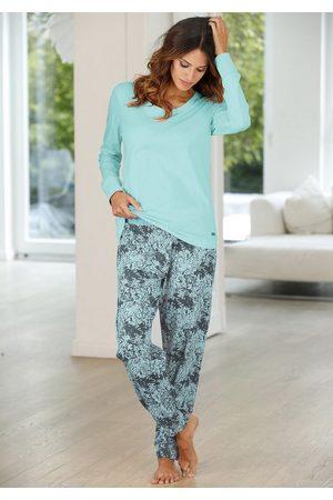 Buffalo Pyjama mit gemusterter Hose & passendem Langarmshirt