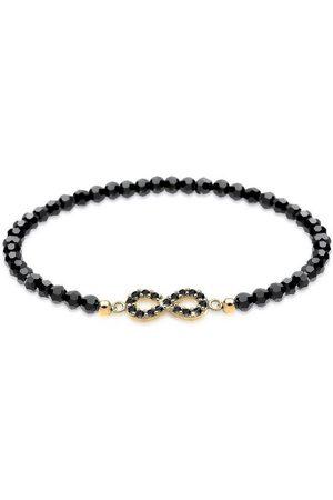 Elli Armband »Infinity Swarovski® Kristalle 925 Noir«