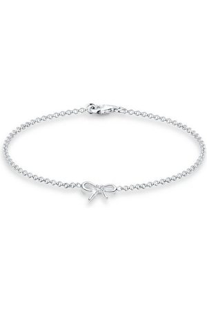 DIAMORE Armband »925 Sterling Schleife Diamant Geschenkidee«