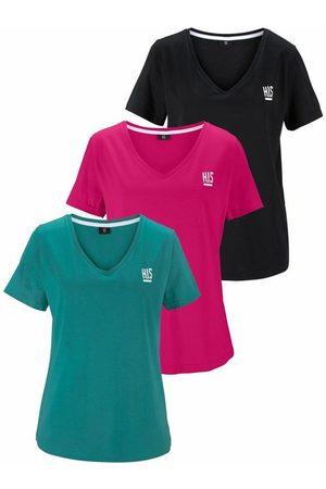 H.I.S T-Shirt (Spar-Set, 3er-Pack) Große Größen