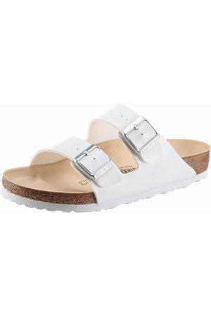 Birkenstock Damen Clogs & Pantoletten - »ARIZONA BF« Pantolette in Schuhweite schmal, mit ergonomisch geformtem Fußbett