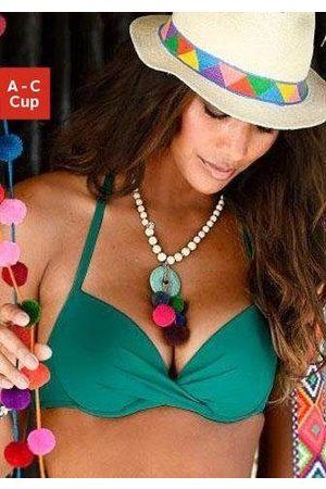 s.Oliver Push-Up-Bikini-Top »Spain«, in Wickeloptik
