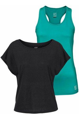 H.I.S T-Shirt »Yoga Shirt« (Spar-Set, 2-tlg., mit Top)