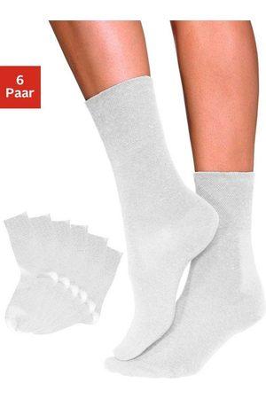 Rogo Socken (6-Paar) mit Komfortbund auch für Diabetiker geeignet