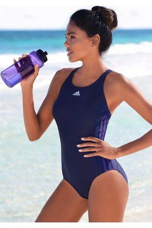 adidas Badeanzug, mit seitlichen Streifen