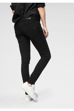 LTB Slim-fit-Jeans »MOLLY« mit 2-Knopfbund und Destroyed-Effekten