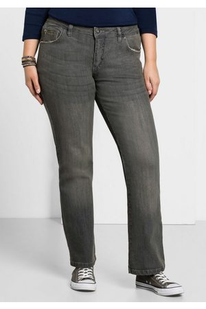 Sheego Bootcut-Jeans MAILA in Bootcut-Form