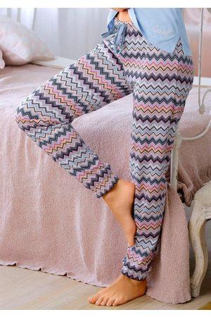 VIVANCE DREAMS Pyjamahose mit Allover Print