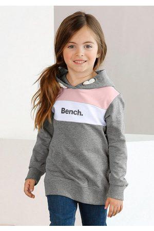 Bench Kapuzensweatshirt mit kontrastfarbenen Einsätzen