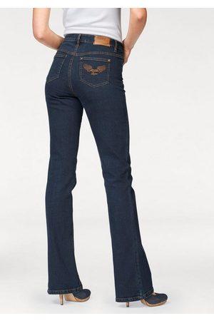 ARIZONA Damen High Waist Jeans - Bootcut-Jeans »Comfort-Fit« High Waist