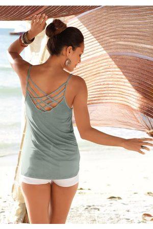 Lascana Strandtop mit gekreuzten Bändern
