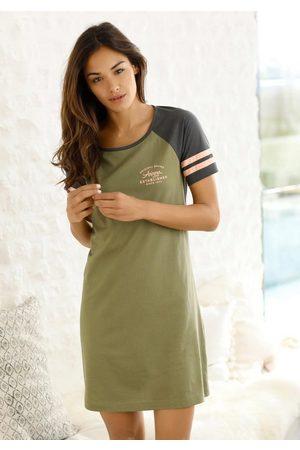ARIZONA Nachthemd mit Raglanärmeln