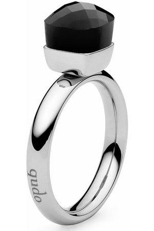 QUDO Fingerring »Firenze small, 636431«, mit Glasstein