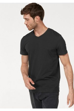 Jack & Jones T-Shirt »SLIM- FIT BASIC TEE V-NECK« mit V-Ausschnitt
